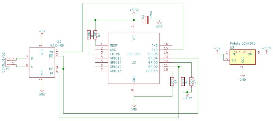 Delta Reader - ESP8266 project